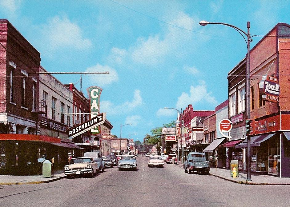 East thomas street, circa 1950'S, hammond, LA, HAMMOND HISTORIC DISTRICT COMMISSION.