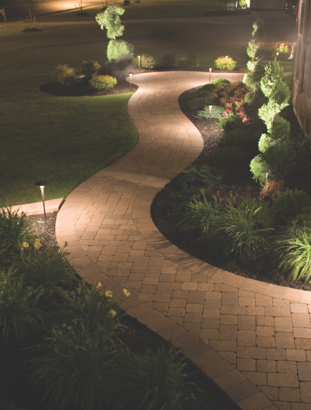 path and walkway lighting in fishkill, ny