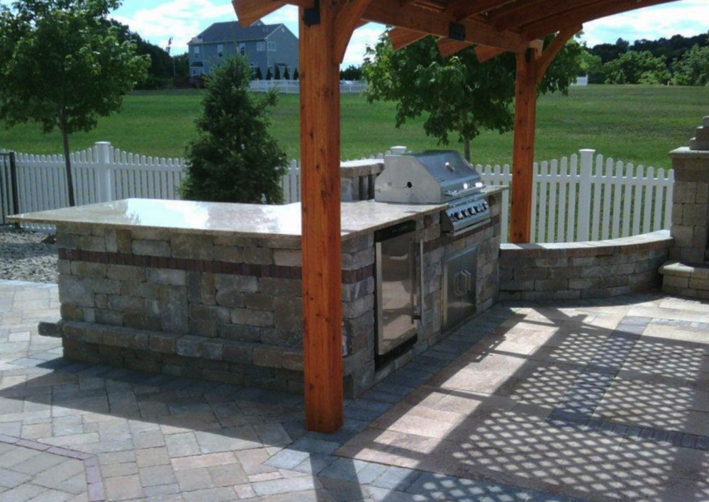 Outdoor Kitchen Design and Installation, Dutchess County, Hudson Valley