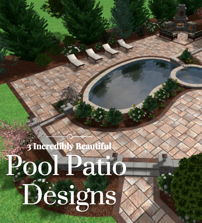 3D Pool Patio Designs For Hopewell Junction And Wappingers Ny