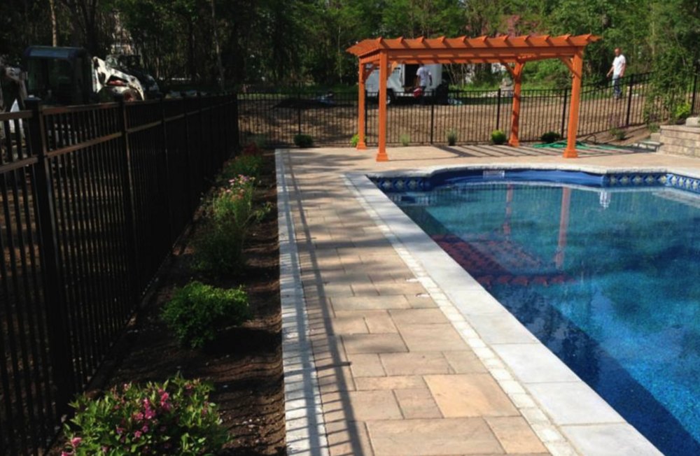 Pool Patio, Landscapers, Landscaping in Dutchess County, NY, Poughkeepsie Patio Pavers