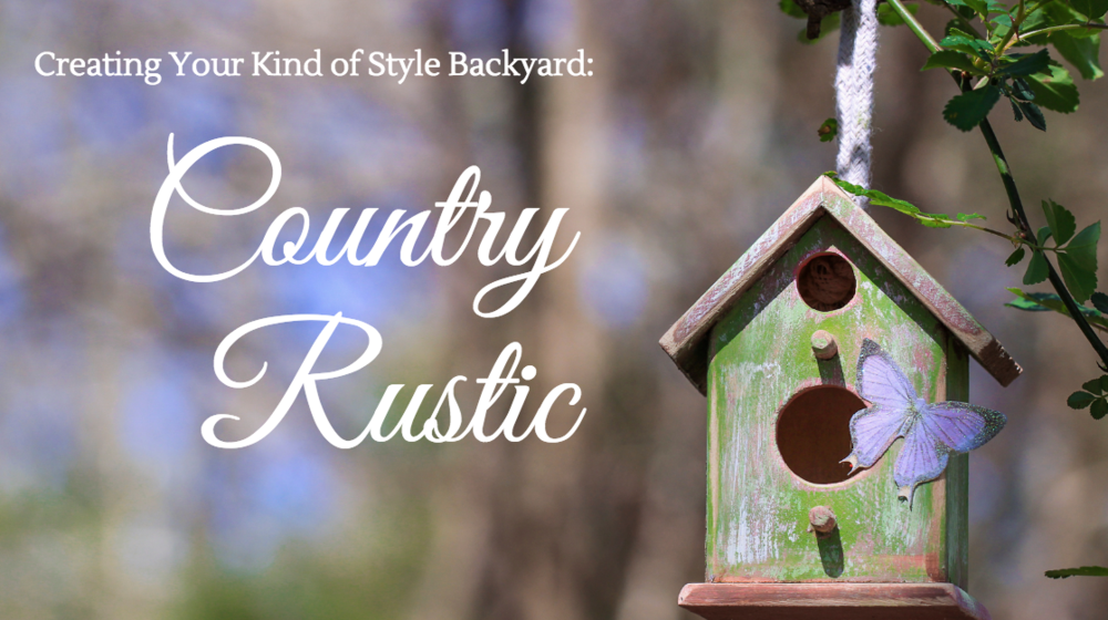 creating a country rustic style backyard in dutchess county ny