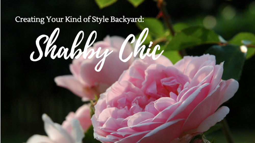 Creating a shabby chic landscape design in your backyard in Wappingers Falls, NY