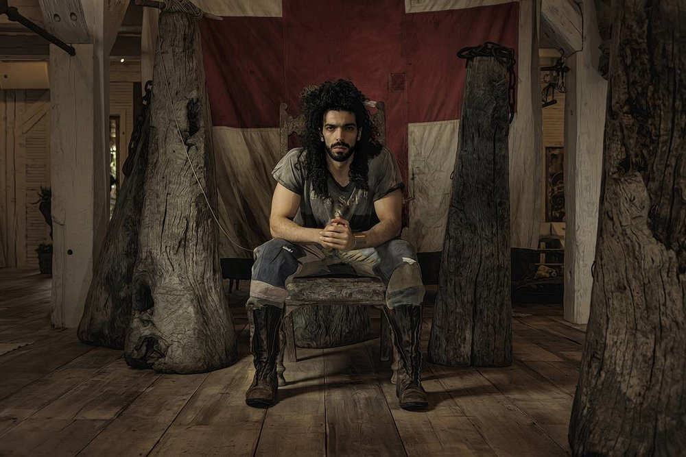 Remember when Ramy Essam was Khal Drogo on Game of Thrones?