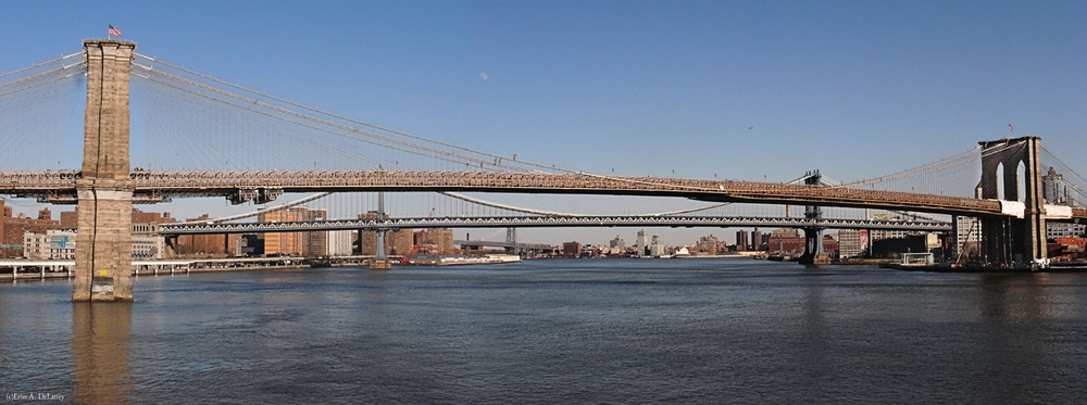 Three Bridges New York City, 2012