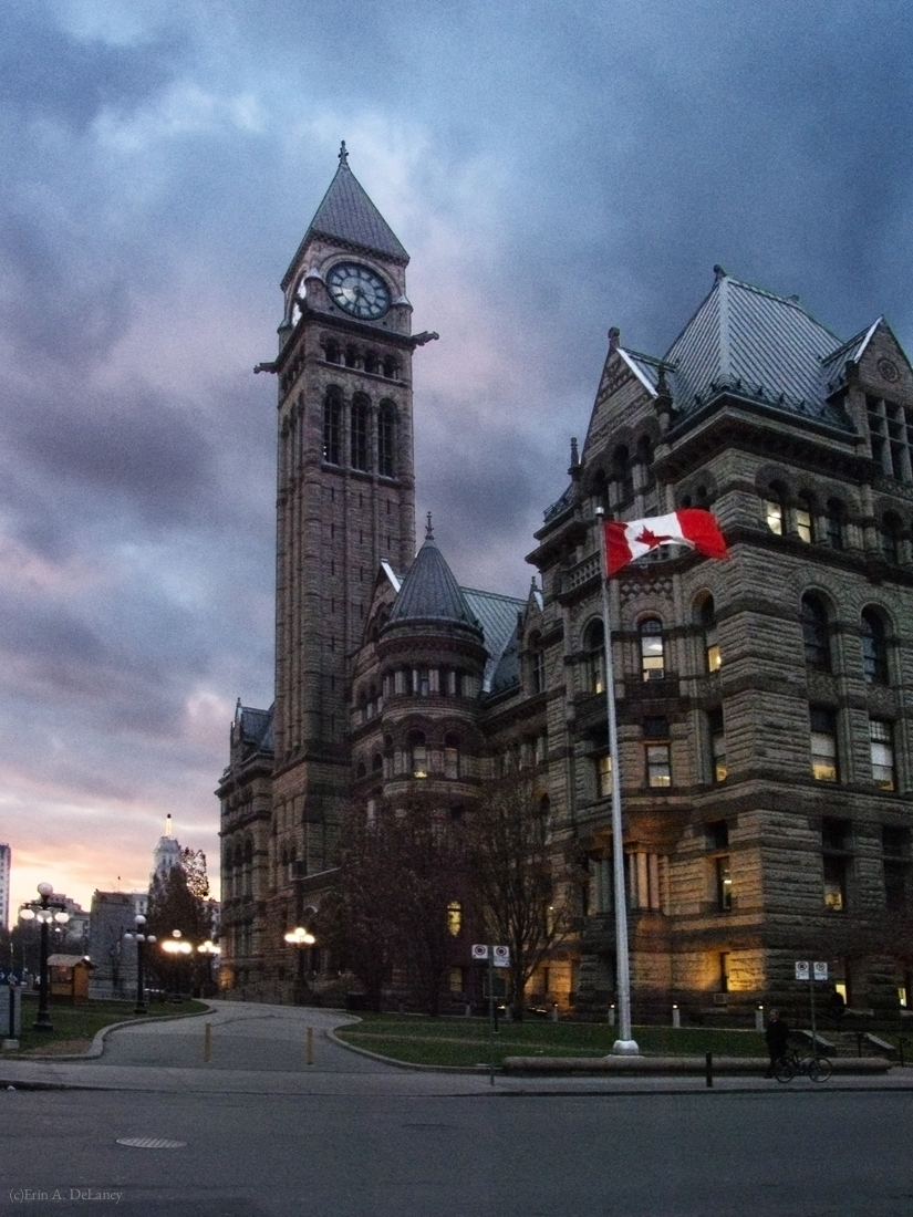 Toronto Old City Hall at Dusk, 2012