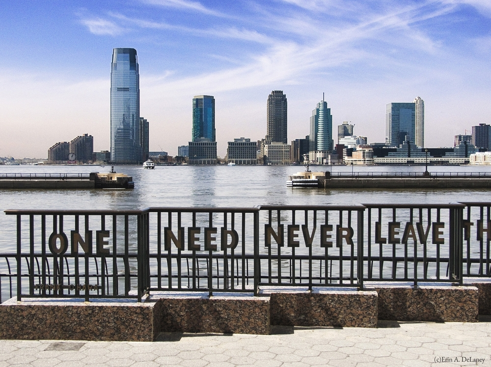 Jersey City Skyline, One Need Never Leave, 2014