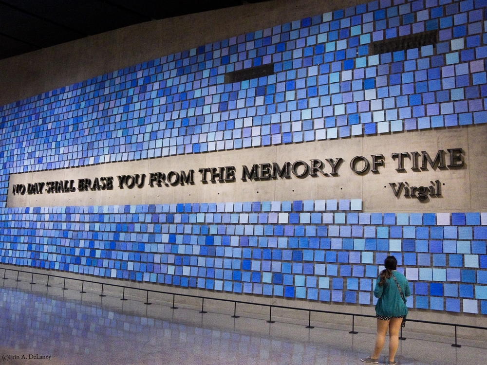 9/11 Memorial Museum Repository Wall, New York City, 2014