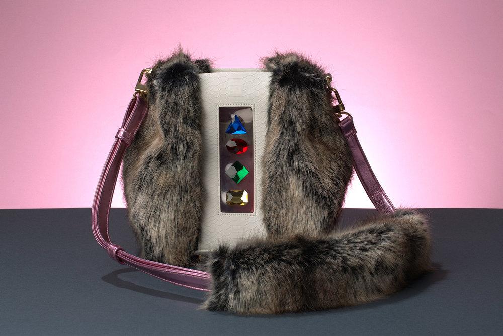 FruitenVeg-NAMI bag-never-leather-artificial-fur-luxury-cross-body-small-handbag-nyc