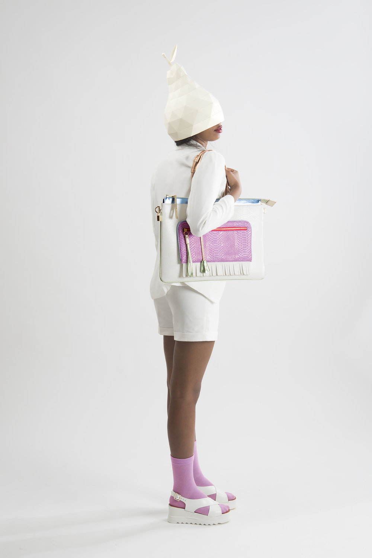 FruitenVeg-eco vegan leather-faux-embossed-croco-high-end-large-laptop-tote-bag-new-york-handbag-designer