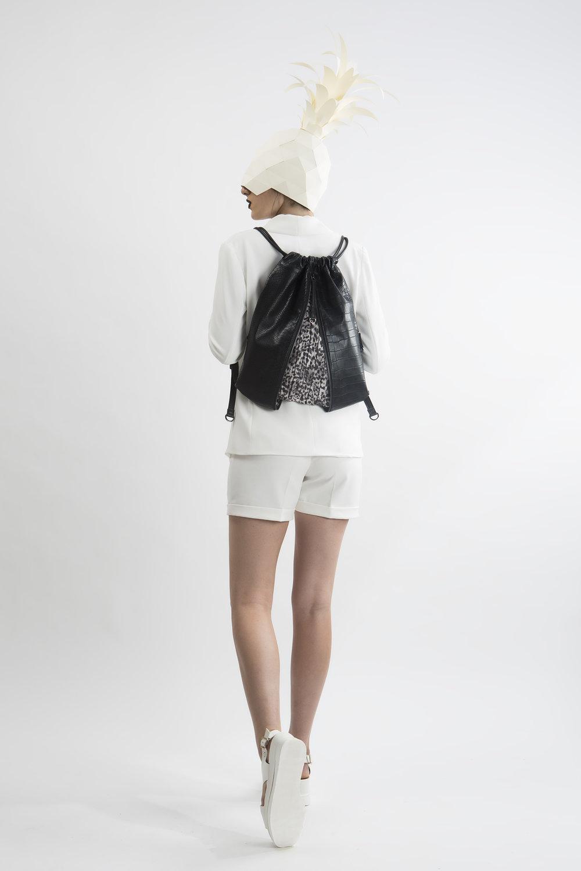 FruitenVeg-MISHI bag-never-leather-vegan-croc-embossed-black-medium-handbag-nyc