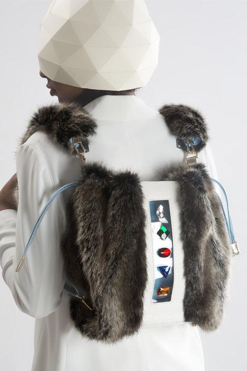FruitenVeg-KULU bag-faux fur satchel-artificial-fake-fur-big 6f2011bf4c21e