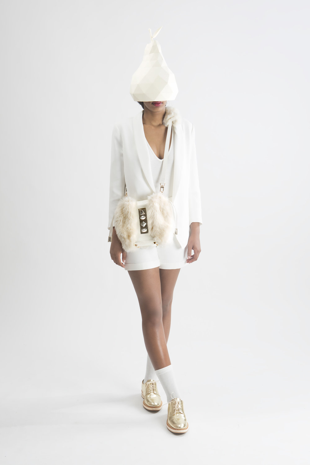 FruitenVeg-NAMI bag-never-fur-vegan-leather-fake-artificial-fur-white-rhinestones-small-cross-body-designer-handbag-nyc