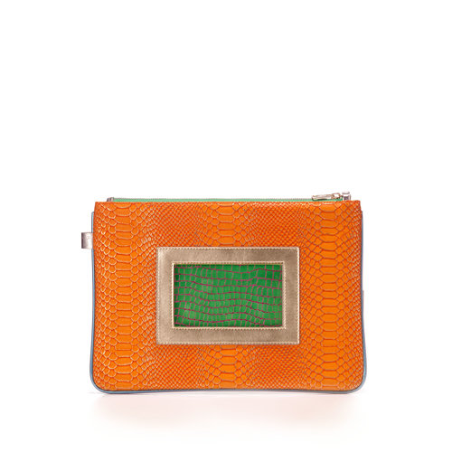 ... FruitenVeg-GEMA bag-cruelty-free-eco-leather-orange-gold 71dab23d4a664
