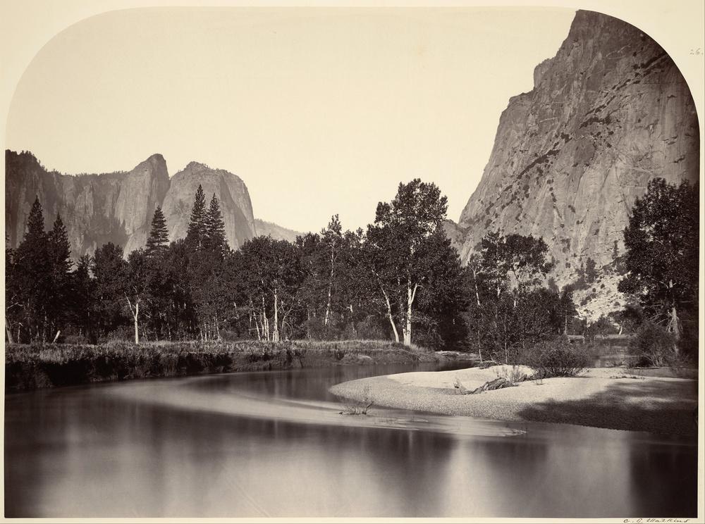 Carleton Watkins:Yosemite, California
