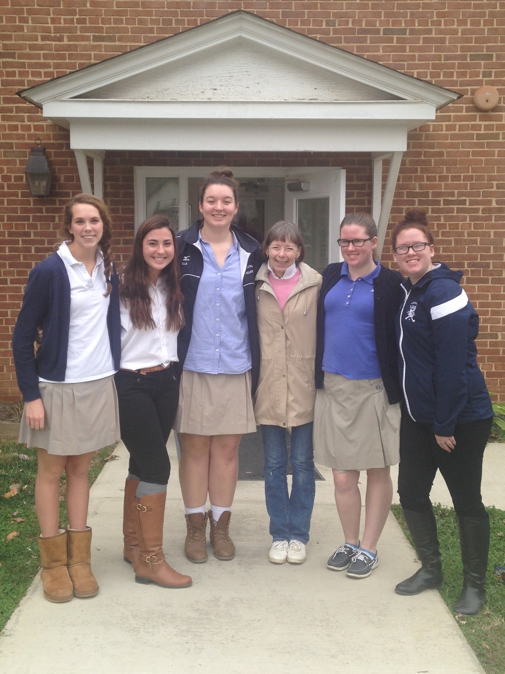 Volunteering in the Local Community — Middleburg Academy
