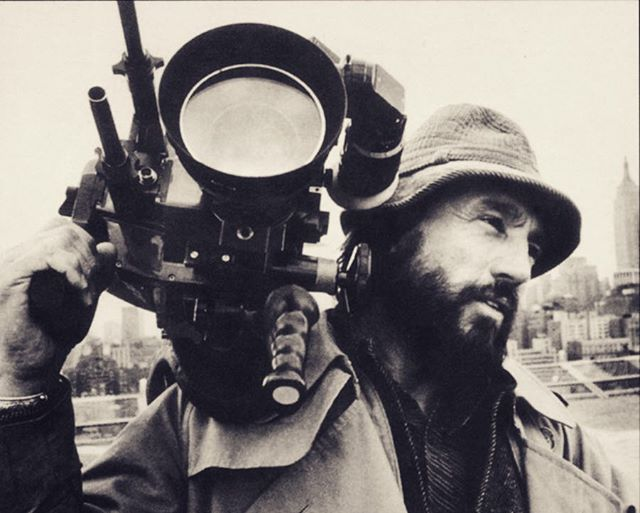 "R.I.P. Vilmos Zsigmond, a legend of cinematography and a great inspiration to me. Always loved his quote: ""For me, movies should be visual. If you want dialogue, you should read a book."" #zsigmondvilmos"
