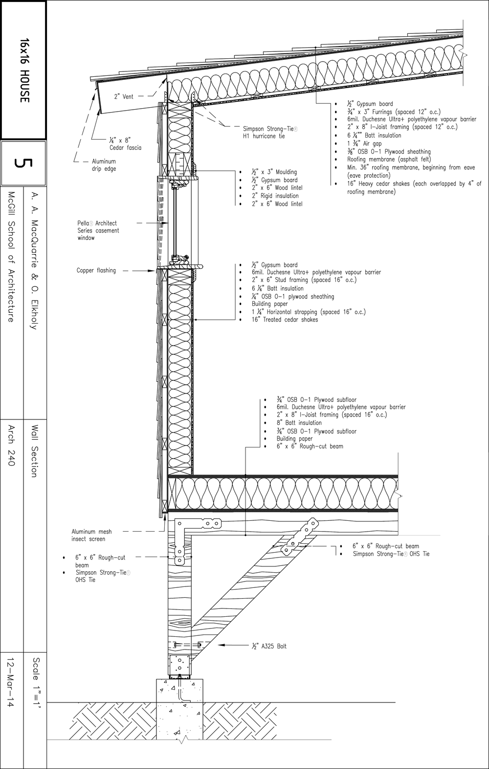Metal Curtain Wall Details : Steel curtain wall section integralbook