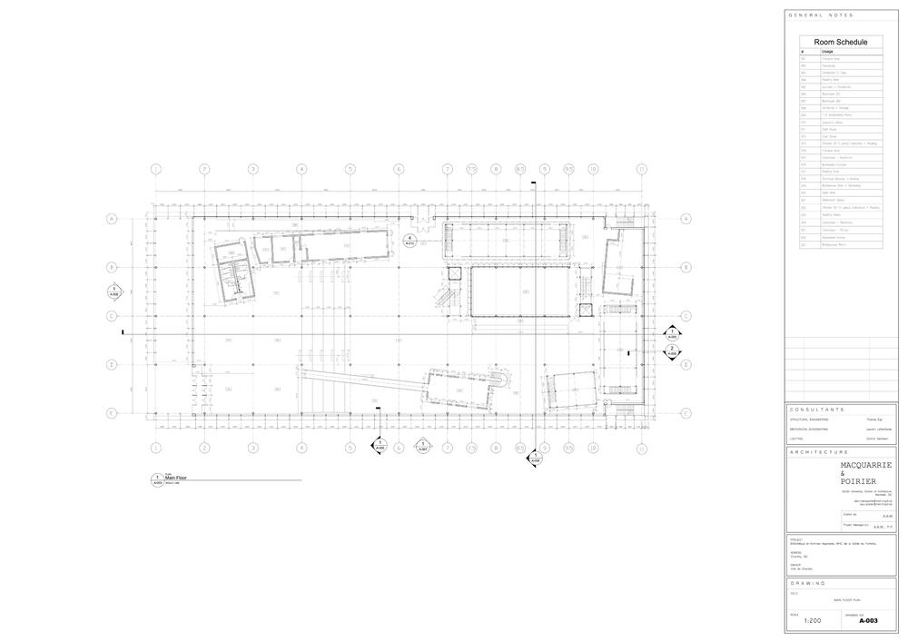 Technical Drawings — Alan Adriano MacQuarrie / PORTFOLIO