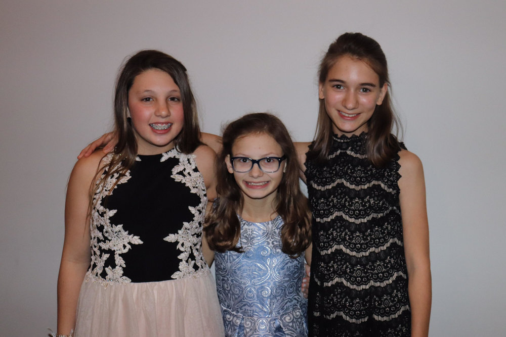 We are so proud of what Emma Grace Early, Sarah Carson Hill, and Julia McAdam accomplished this year!