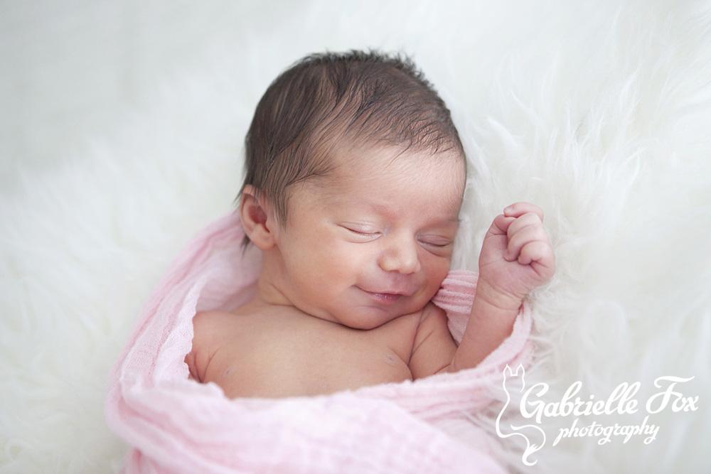 san diego newborn session 1 week old gabrielle fox photography