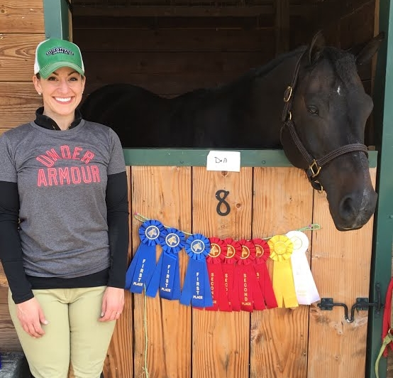 Thank you for the wonderful saddle.  it was a complete game changer over the last month for his overall happiness and relaxation.  we had an awesome first show this weekend!  thank you for being such an integral part of our journey!  - anjanette nicolazzo