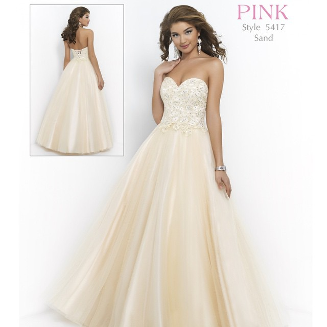 In stock now!! #blushprom #prom #Destinationwedding #WeddingsPageantsProms