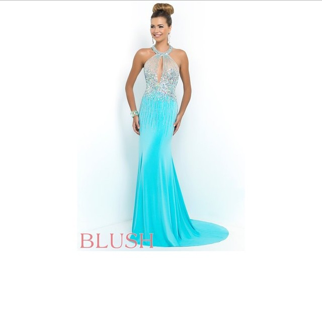 In stock now!!!!! #blushprom #prom #prom2k15 #WeddingsPageantsProms