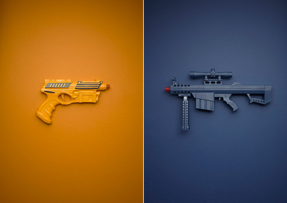 Galactic Force (L) Rifle (R)