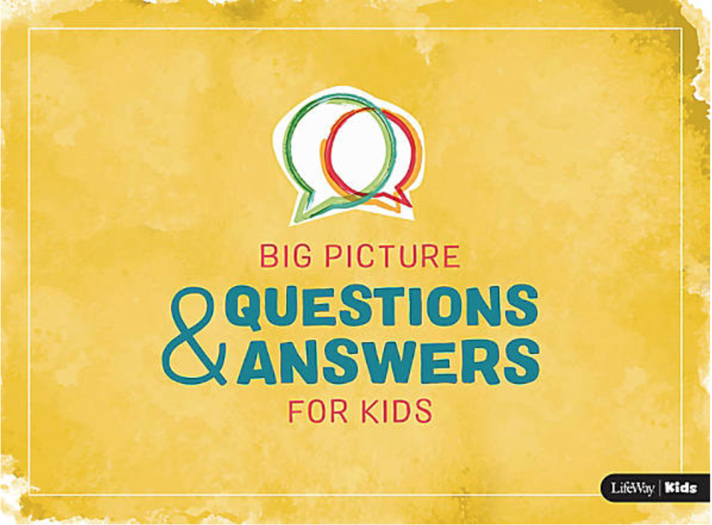 Q + As - for kids' hardest questions