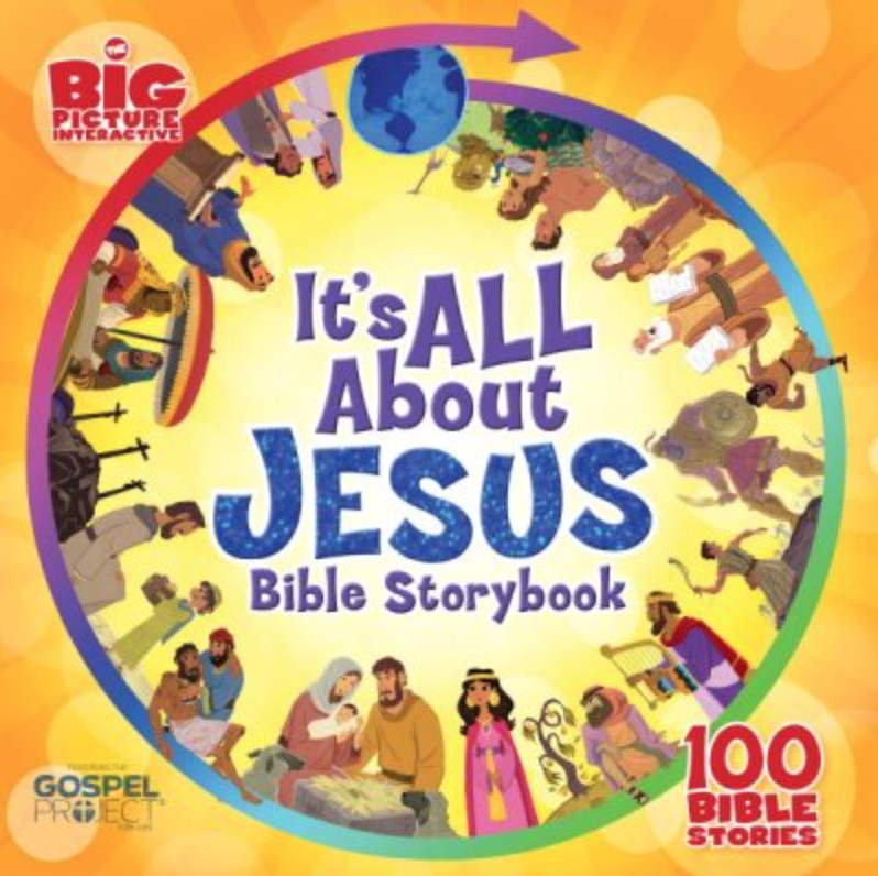 100 stories from Scripture focusing on how they all point to Jesus