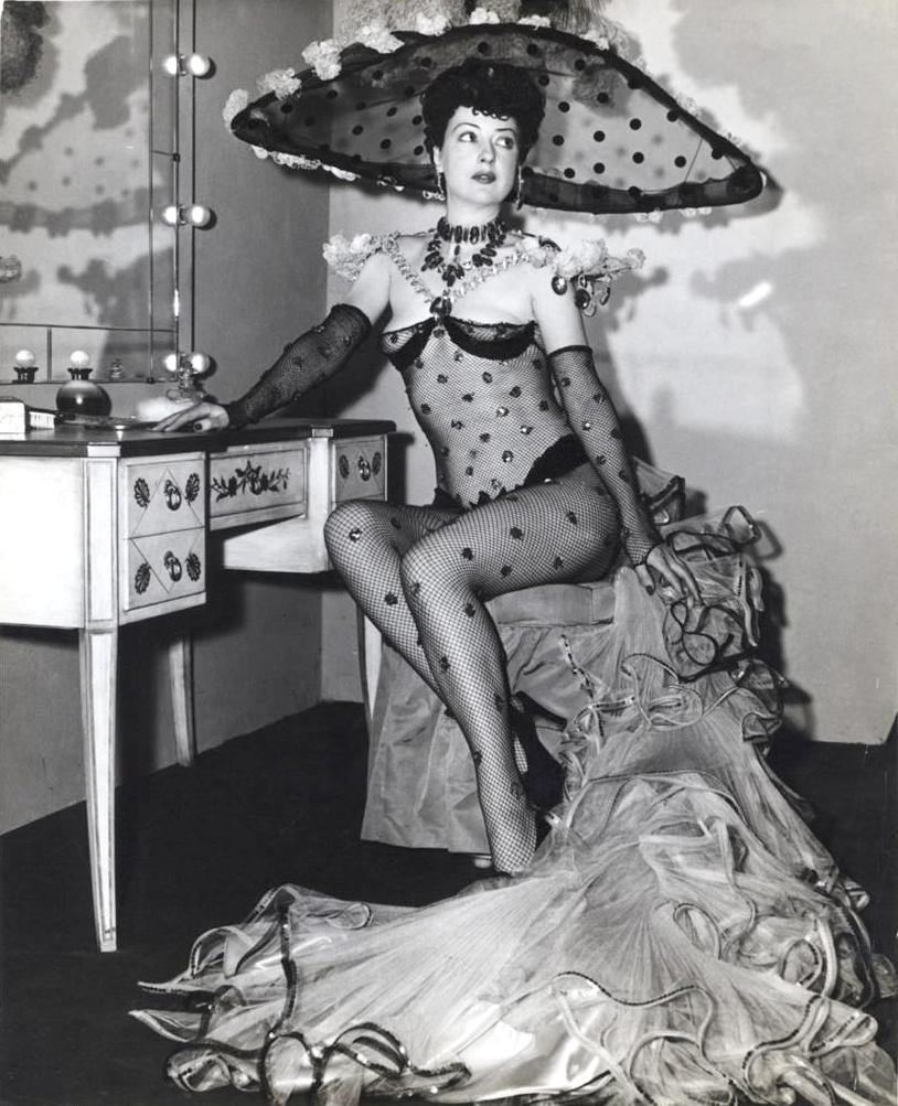 Gypsy Rose Lee - one of the original queens of burlesque