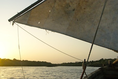 Dhow Sail at Sunset