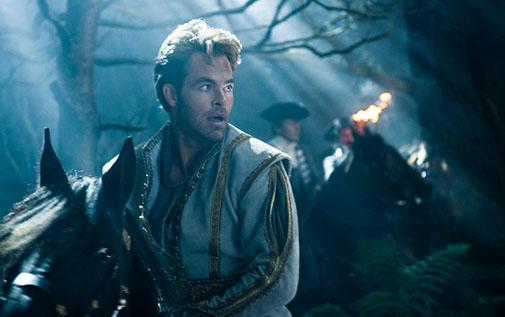 Chris Pine as Cinderella's Prince. Photo by: Peter Mountain.    ©  2014 Disney Enterprises, Inc.