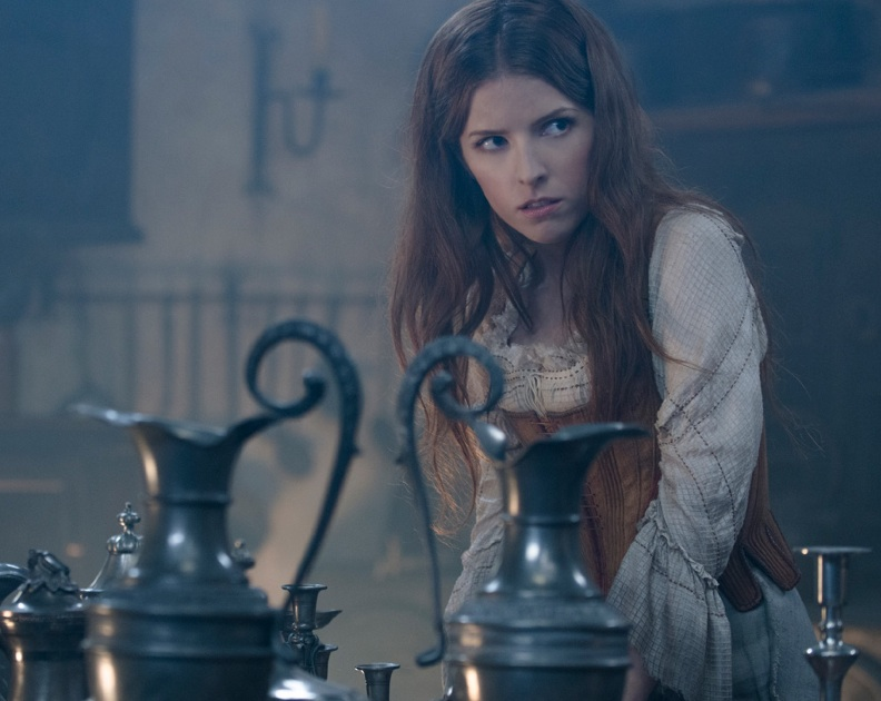 Anna Kendrick as Cinderella. Photo by: Peter Mountain. © 2014 Disney Enterprises, Inc.