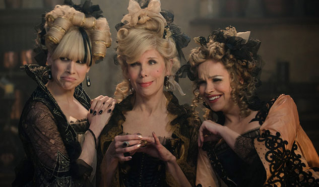 Lucy Punch, Christine Baranski and Tammy Blanchard as Cinderella's Evil Stepsisters.  Photo by: Peter Mountain.     ©   2014 Disney Enterprises, Inc.