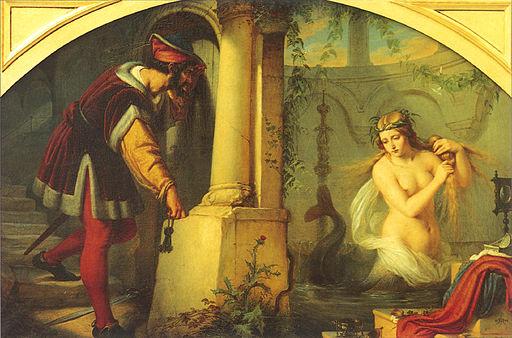 Julius Hübner,  Die schöne Melusine  (1844)