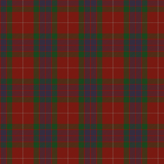 Fraser Clan Tartan-1842.  What's Jamie wearing under that clan tartan? Stay tuned...
