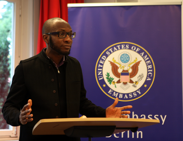 Nigerian-American author Teju Cole