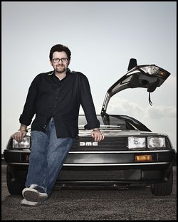 Ernest Cline, photo by Dan Winters