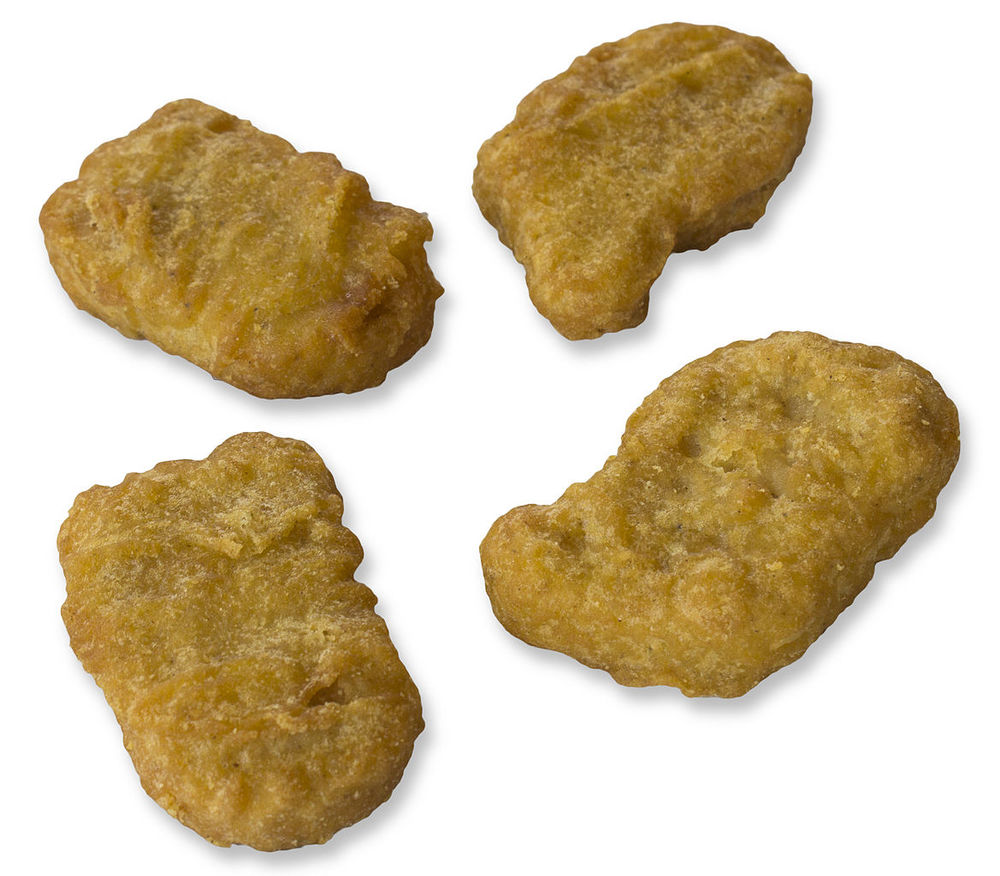 Illustration of Chicken McNuggets bought at McDonald's in Yogyakarta, 2013. CC attribution-Share Alike 3.0 Unported