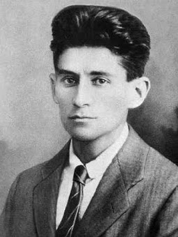 Plus, he was totally dreamy. Those eyes! That hair. (Franz Kafka, 1917)