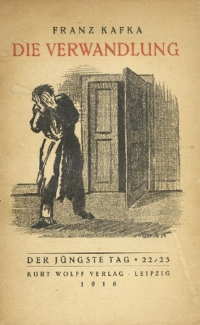 First edition cover for the reprinted short story, 1916.