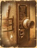 Keystone 8mm movie camera. Photo by Brad Wise.