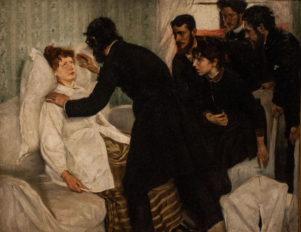 Richard Bergh,   Hypnotic Séance   (1887)