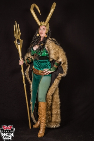 Lady Loki ( Denver Comic Con 2016 )