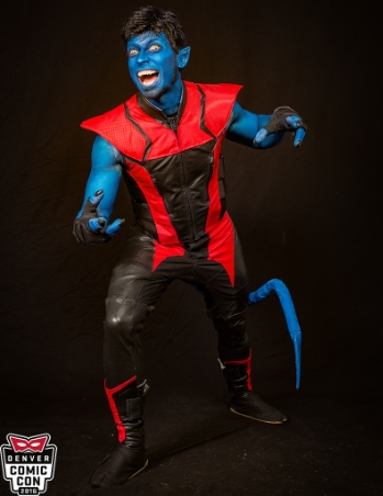 The X-Men's Nightcrawler ( Denver Comic Con 2016 )