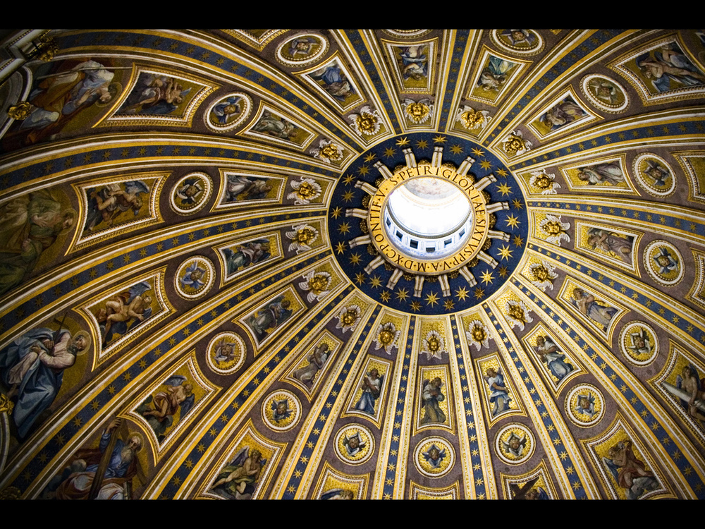 St. Peter's Basilica by Dan Foy .