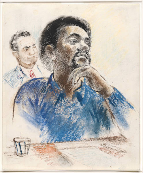 Bobby Seale was one of the founding members of the Black Panther Party for Self Defense, which FBI Director J. Edgar Hoover referred to as the single greatest threat to internal security of the United States. Photo Credit: Beinecke Rare Book and Manuscript Library, Yale University