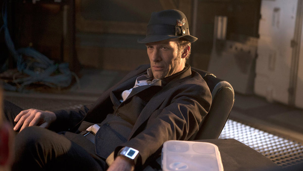 Thomas Jane as Miller, noir detective